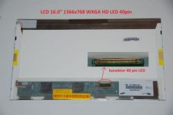 "Asus K61IC display 16"" WXGA HD 1366x768"