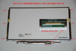 "Display CLAA133UA01 13.3"" 1600x900 LED 40pin Slim LP"