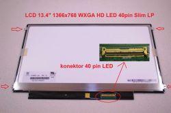 """Display LTN134AT01 13.4"""" 1366x768 LED 40pin Slim LP"""