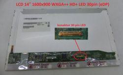 "Display B140RW01 V.2 HW1A 14"" 1600x900 LED 30pin (eDP)"