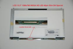 "Display LTN133AT23 13.3"" 1366x768 LED 40pin Slim DH Special"