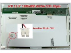 """Display LQ133K1LA04 13.3"""" 1280x800 CCFL 20pin"""