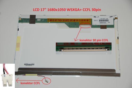 """LTN170MT02 LCD 17"""" 1680x1050 WSXGA+ CCFL 30pin display displej"""
