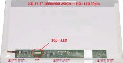 "MSI GP70 2QE display 17.3"" LED LCD displej WXGA++ HD+ 1600x900"