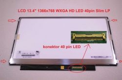 "MSI MS-1352 display 13.4"" LED LCD displej WXGA HD 1366x768"