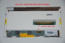 "Display HSD160PHW1 16"" 1366x768 LED 40pin"