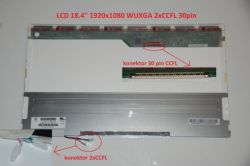 "Display N184H4-L01 18.4"" 1920x1080 2xCCFL 30pin"