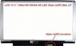 "Display HB133WX1-201 13.3"" 1366x768 LED 30pin (eDP) Slim LP"